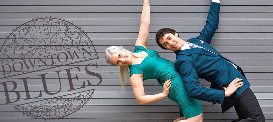 Ruth & Mike - Blues Dance Workshop