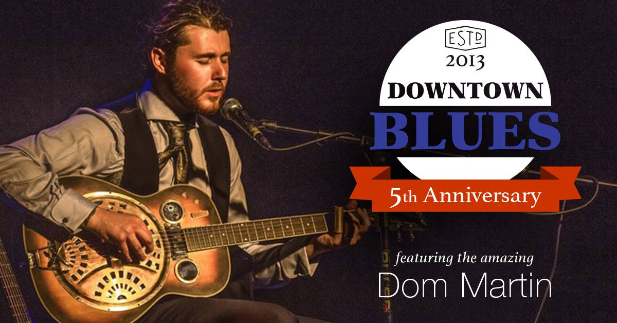 5th Anniversary of DTB with Dom Martin